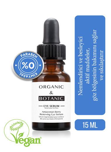 Organic ORGANIC BOTANIC SERUM GÖZ YEN.AMAZON ÜZÜMÜ15ml Renksiz